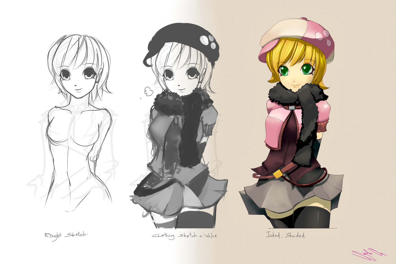 How To Design Character Anime : Anime character design by gumustdo on deviantart