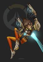 Overwatch Fan-art : Tracer by gumustdo