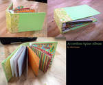 Bookmaking: Accordion album by queenmari