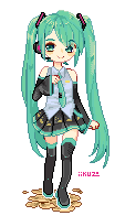 F2U Miku PageDoll by iikuzo