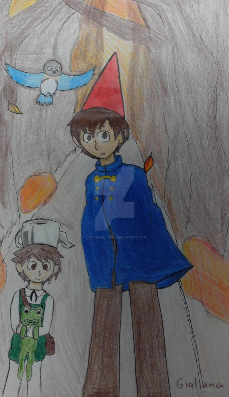 Over The Garden Wall Into The Unknown By Echostarligth On Deviantart