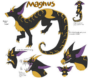 Magnus [Kivoachian OC] by Cockatooage
