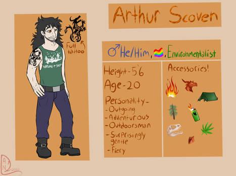 Arthur Scoven OC ref