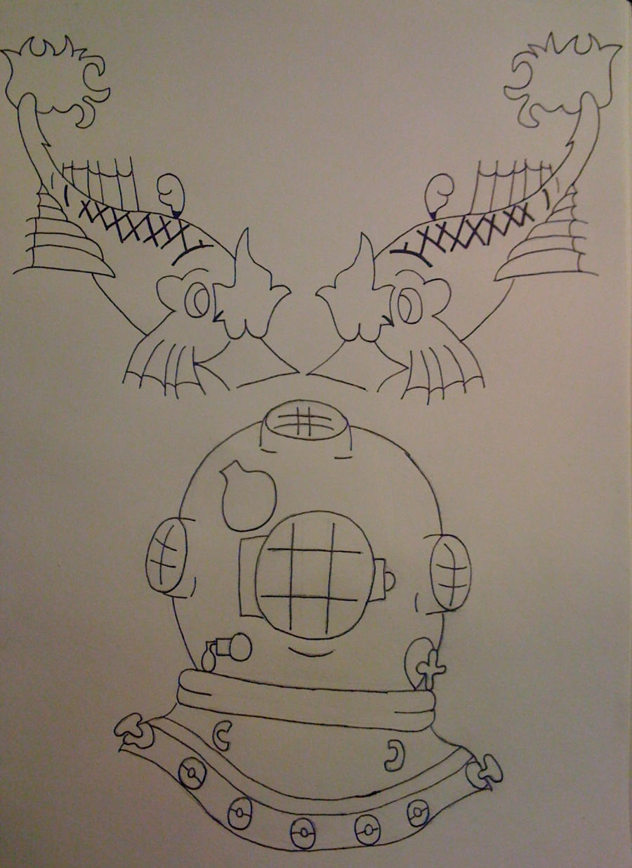 Sailor Jerry Tattoo Stencil by