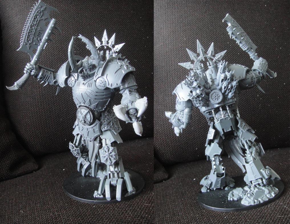 Lord of Skulls walker conversion by AssberryFaggot