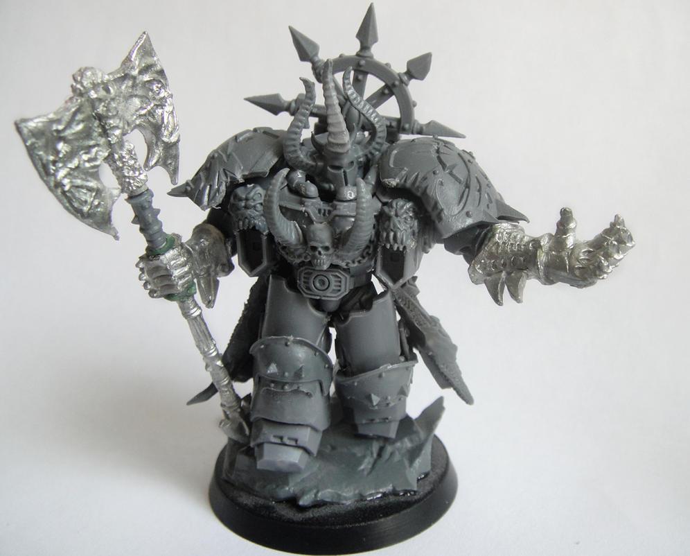 Centurion Chaos Lord Conversion by AssberryFaggot