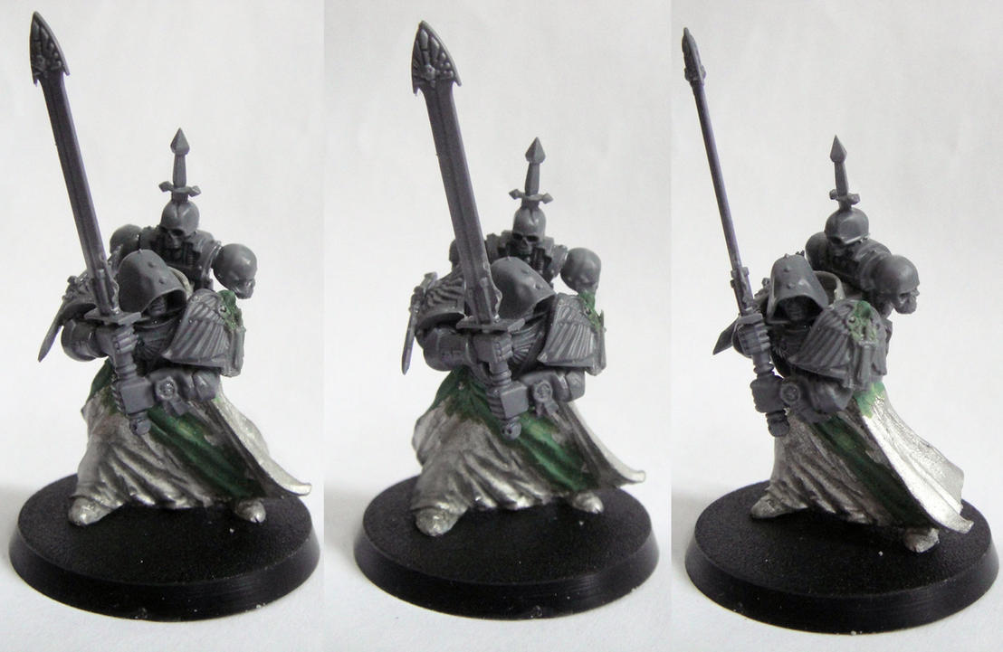 Dark Angels Grand Master conversion by AssberryFaggot