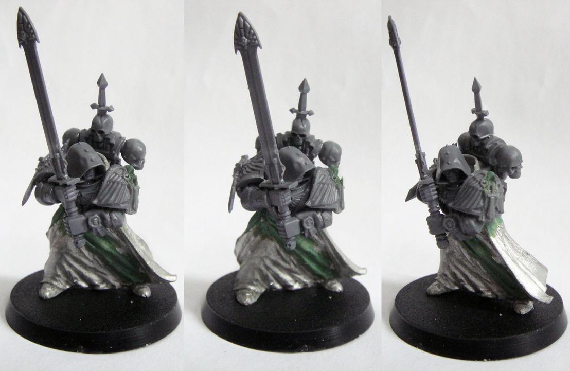 Dark Angels Grand Master conversion by AssberryFaggot