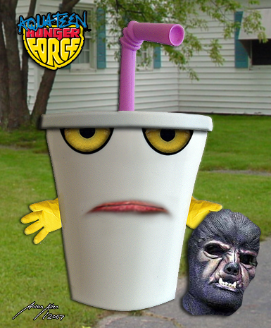 Master Shake- Liveaction ATHF by BoredRobot