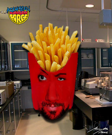 Frylock- Liveaction ATHF by BoredRobot