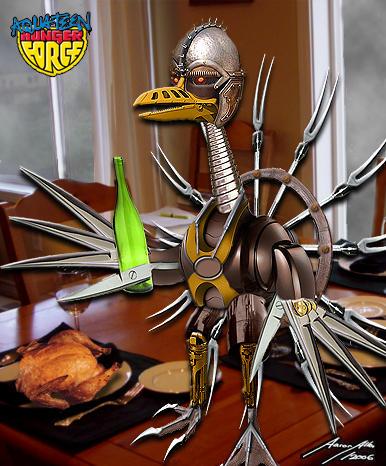Turk-E-Tron-  Liveaction ATHF by BoredRobot