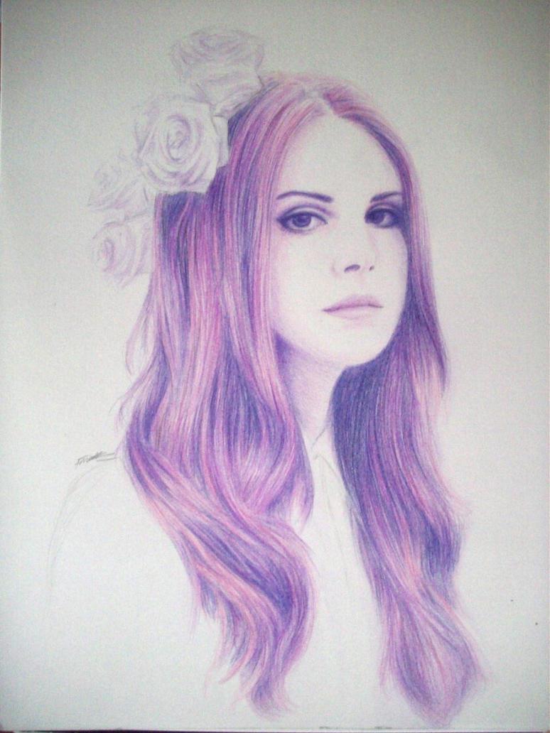 Lana Del Rey .2 by desertghoul