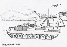 Panzerhaubitze 2000 by StubbornEmil