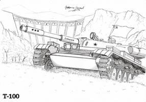 Light Tank T-100 by StubbornEmil