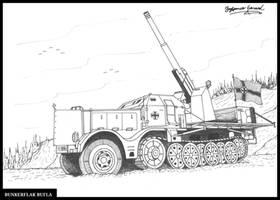 8.8 cm Flak 37 (Sfl.) auf Zugkraftwagen 18t