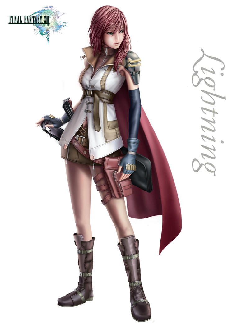 FF XIII lightning fan art full by Dsabotender