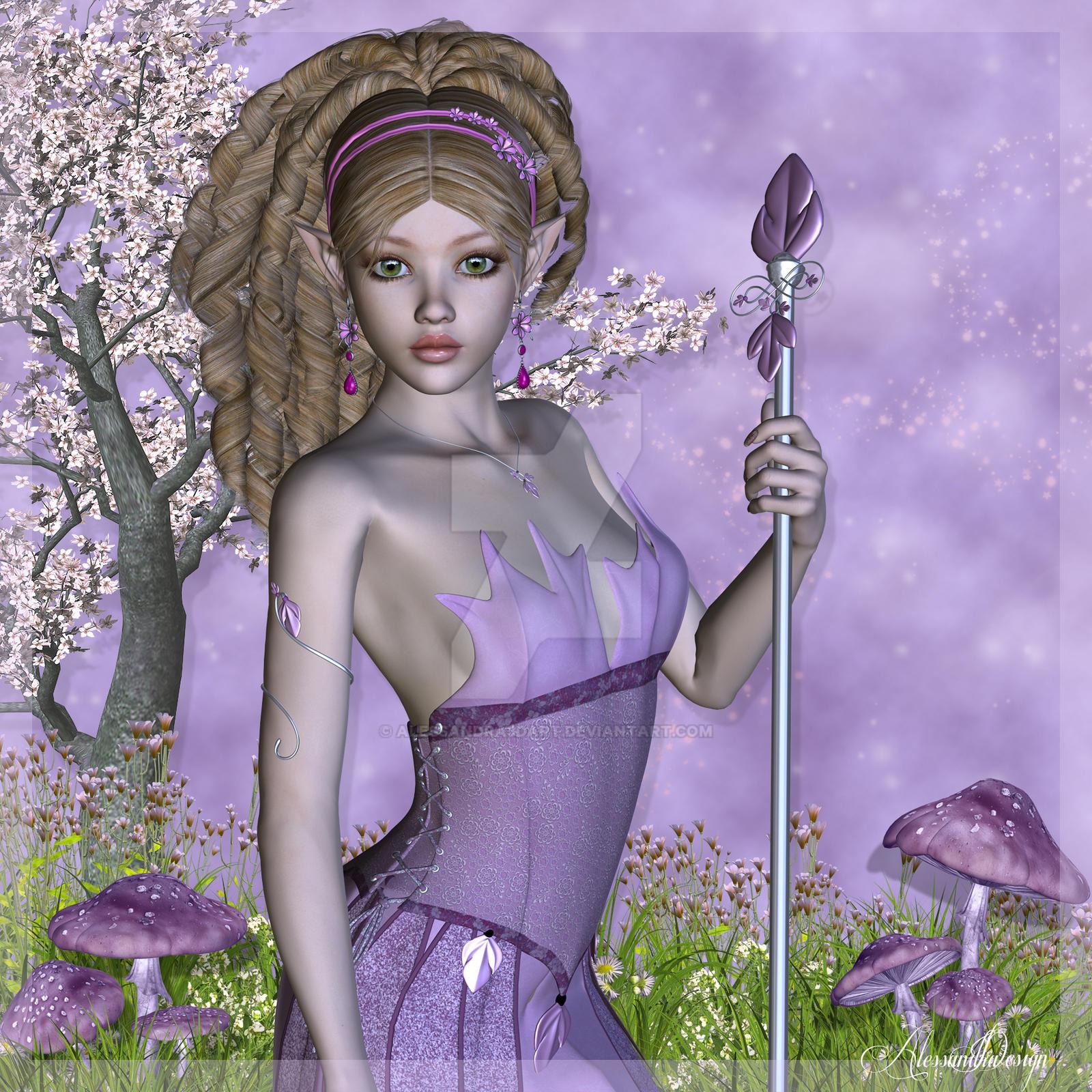 Windchime Fairy by Alessandra3DArt