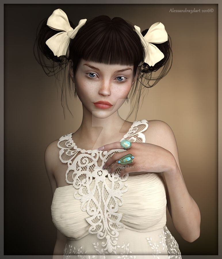MaryJane by Alessandra3DArt