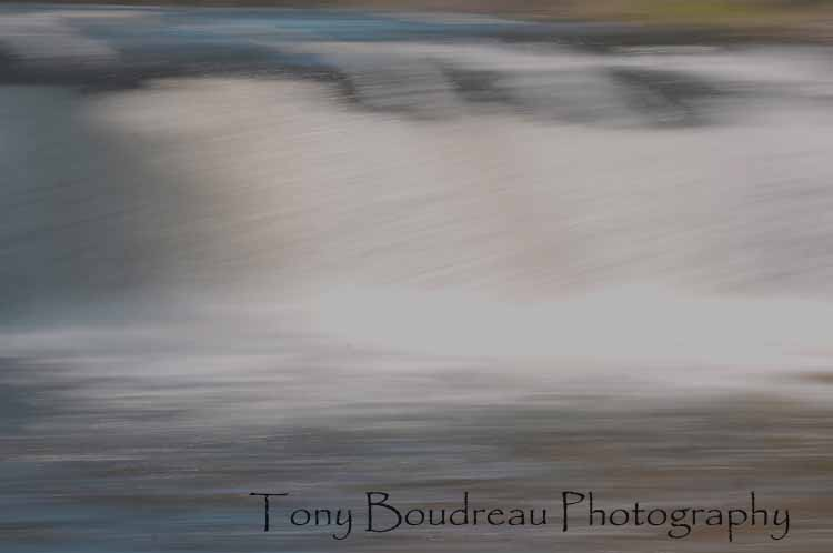 Painted Waterfalls by TonyBoudreau