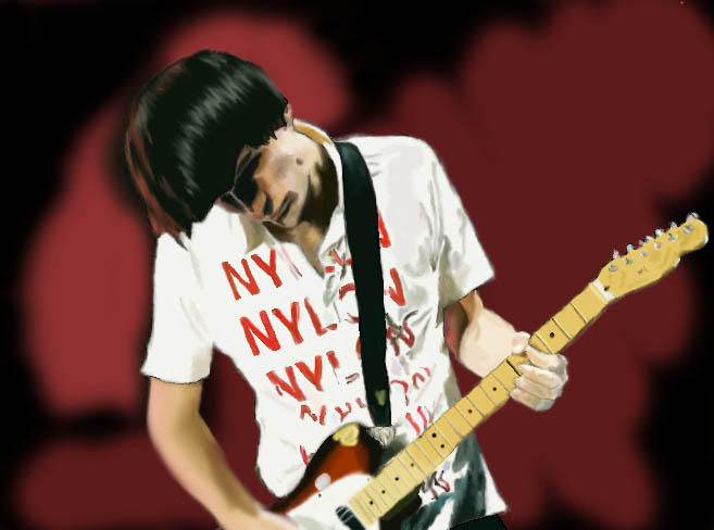 Jonny Greenwood By Robot-Knees On DeviantArt