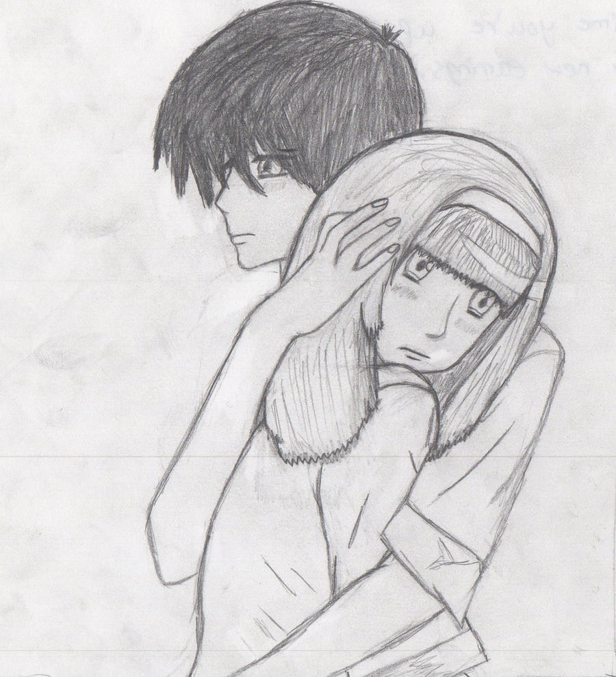 The Gallery For --u0026gt; Drawings Of Anime People In Love