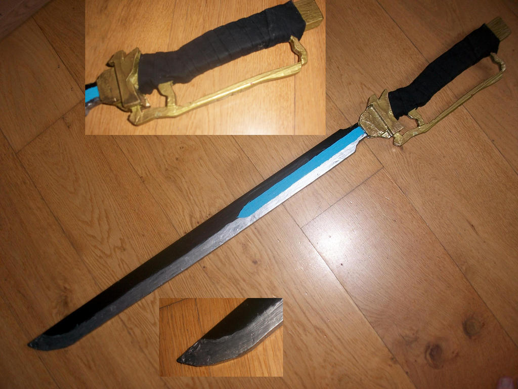 sayaka sword from puella magi madoka magica by megumisaeki