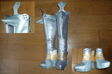 Lightning Armor Boots Final Fantasy 13-2 by MegumiSaeki