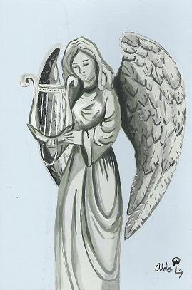 Angel of music by Light-Archangel