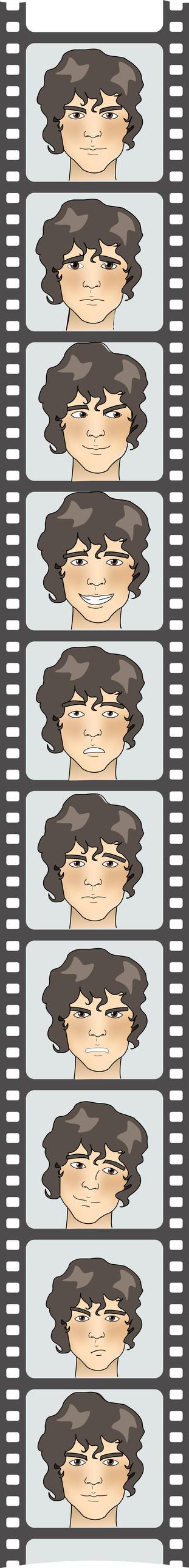 Comic strip mika