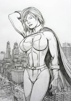 Power boobs Girl
