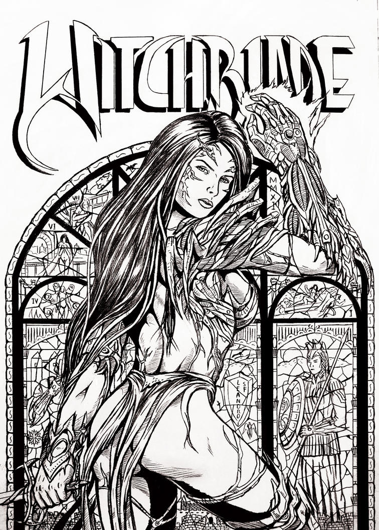 WitchBlade Tribute by leandro-sf