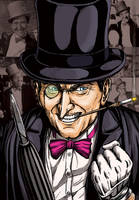 Penguin Burgess Meredith by leandro-sf