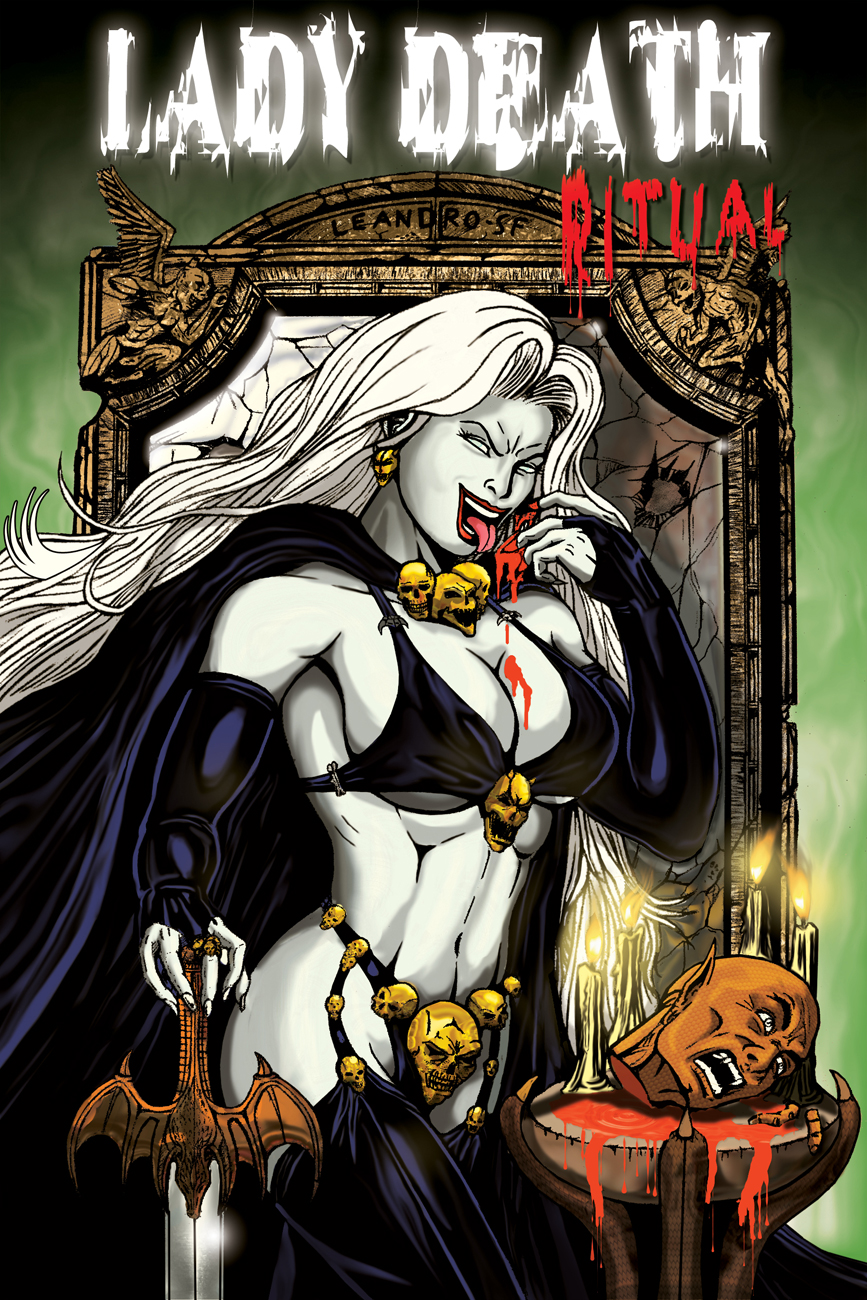 Lady death naked hentai videos