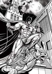 Batman Night Owner by leandro-sf
