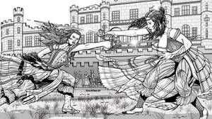Commission Victorian Bloody Duel by leandro-sf
