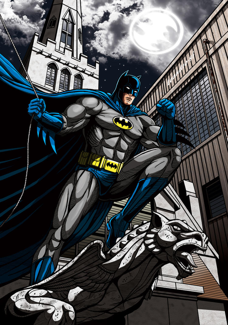 Batman is watching! by leandro-sf