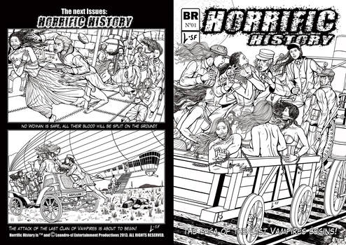 commission Horrific History Lined Version