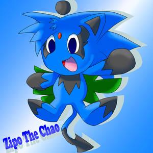 .:Fanart:. Zipo The Chao