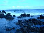 Waves and the Old Lava