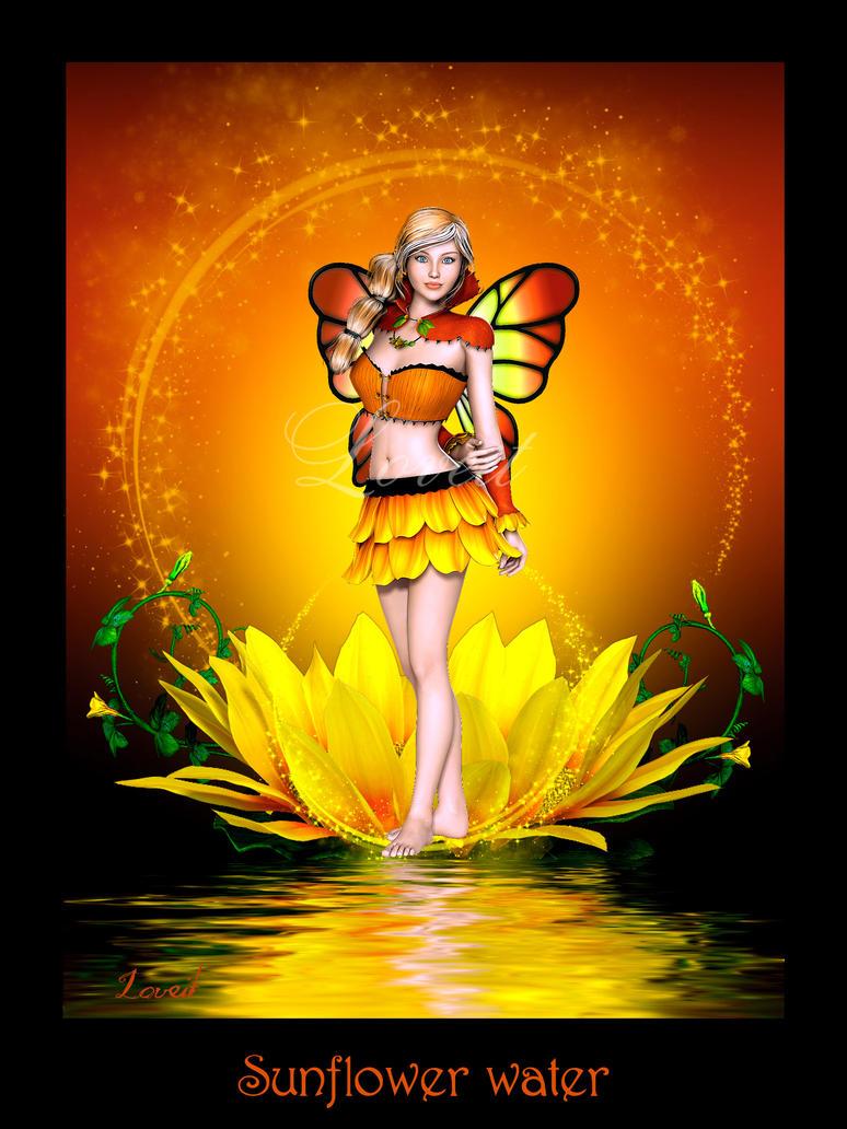 Sunflower water by Loveit