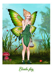 Garden fairy by Loveit