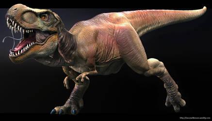 T-Rex by lancewilkinson