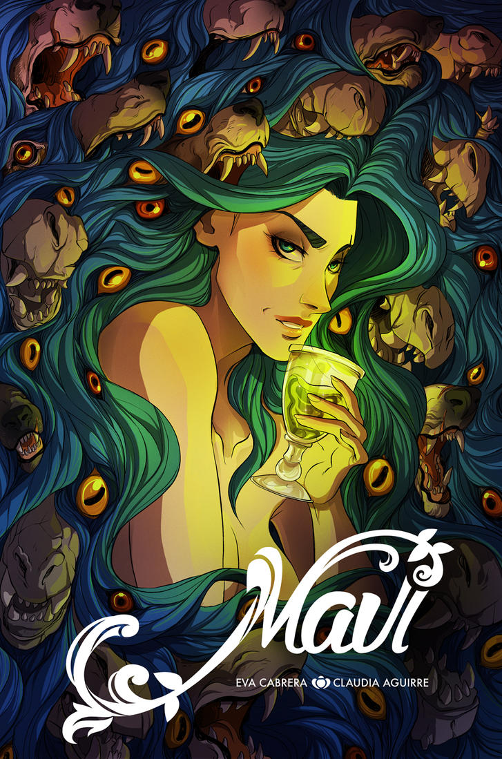 MAVI Graphic Novel by evacabrera