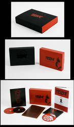 Hellboy DVD box set design