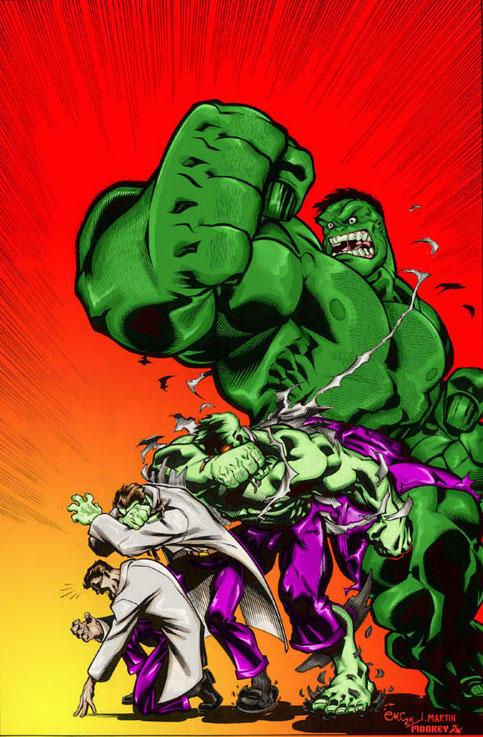 incredible hulk art gallery - photo #29