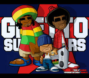 Ghetto Supastars by AKADoom