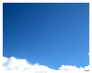 gradient sky by fullcollapse