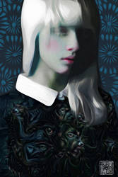 deep dream Nastya Zhidkova fashion portrait by ghettoandroid