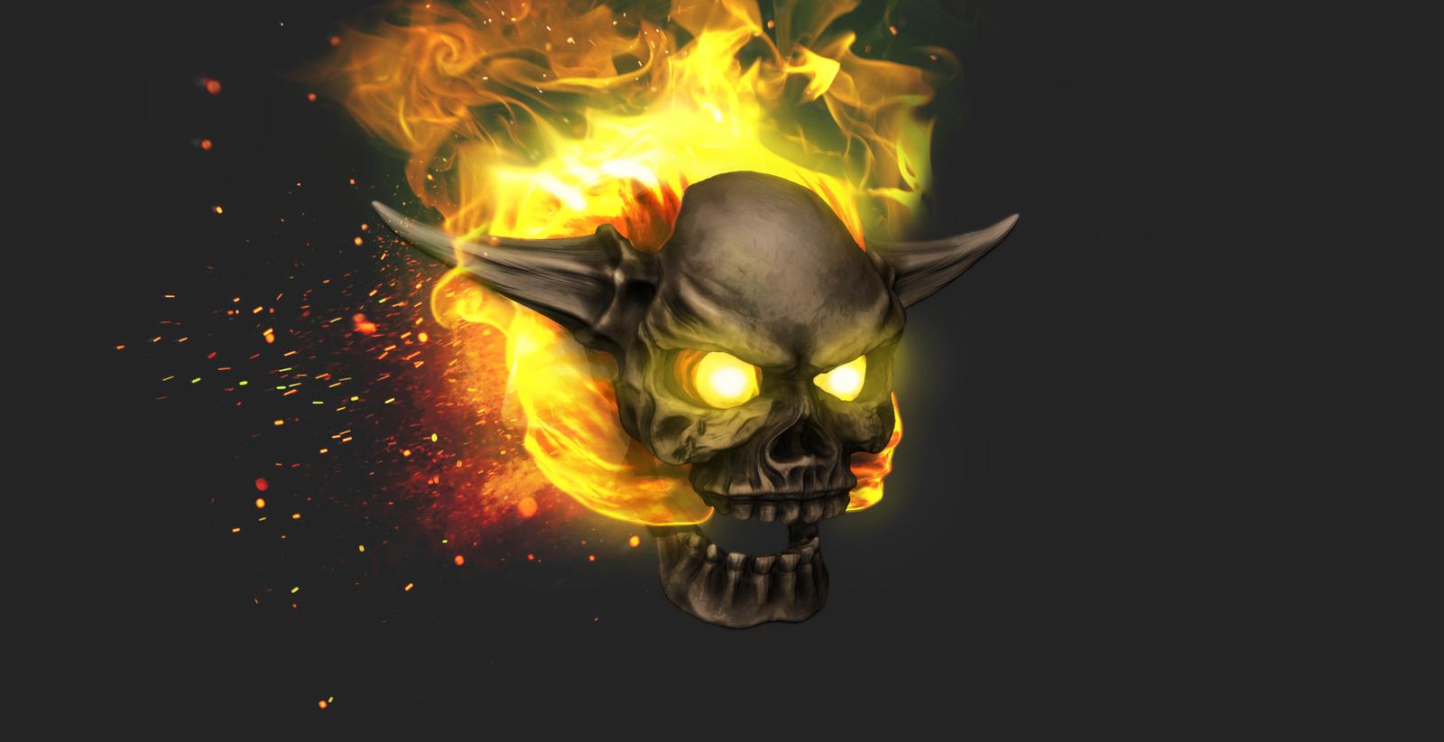 Lost Soul Doom Deviantart: Doom Lost Soul Mudbox Render PS Edit By S13n1 On DeviantArt