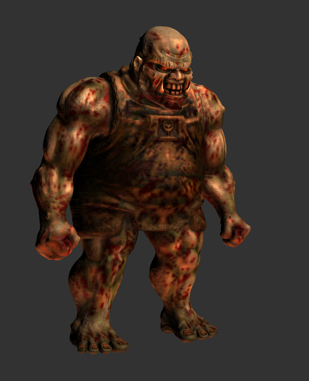 Quake 1 Ogre HD 3D Remake MudBox Work In Progress by s13n1 ... Quake Shambler